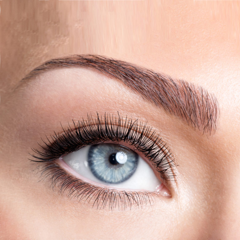 Natürliche Augenbrauen